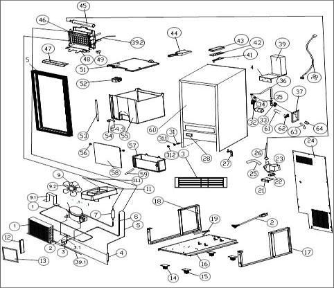 scotsman machine parts diagram