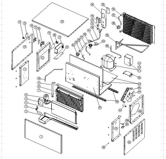 ice maker parts illustration