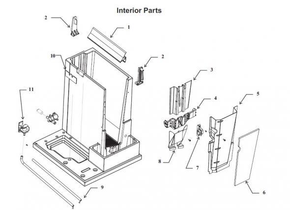 Scotsman Cme456r Ice Machine Parts Fixice Com